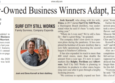 OCBJ Follows Up With Family-Owned Business Award Winners